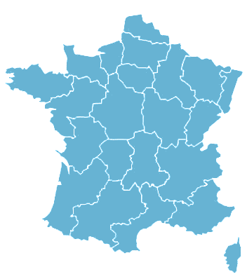 Valeur vénale Carte de france